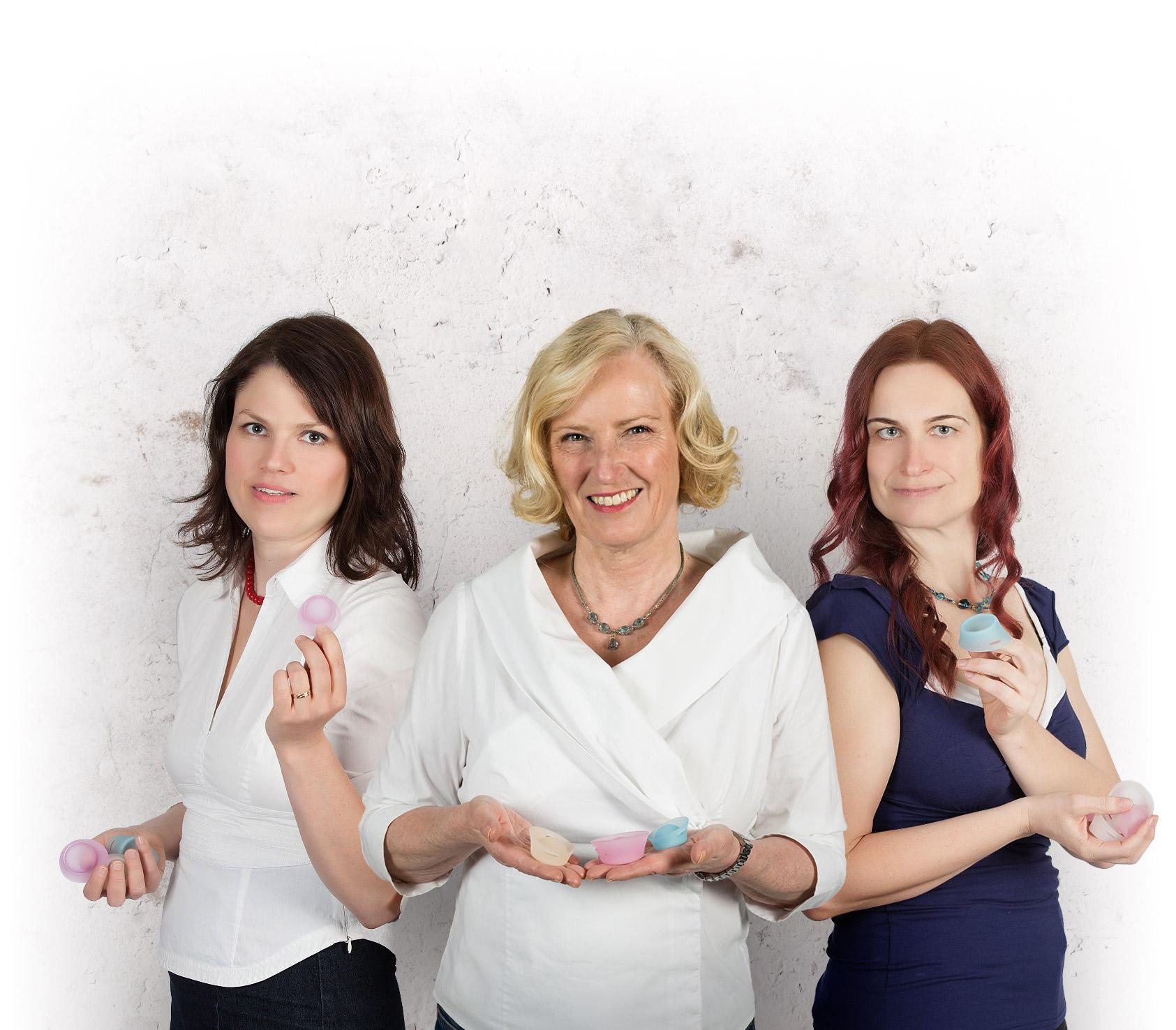 Ing. Katerina Kadlecova (CZ), Birgit Linderoth (SWE), MD Stepanka Pestova (CZ)